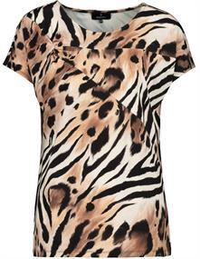 Monari t-shirts 406109 in het Beige