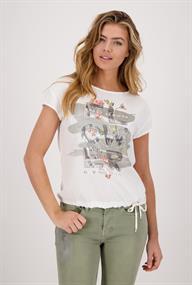 Monari t-shirts 406368 in het Offwhite