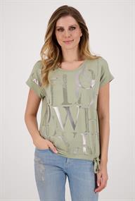 Monari t-shirts 406391 in het Groen