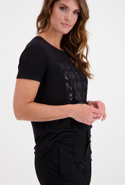 Monari t-shirts 804698 in het Zwart