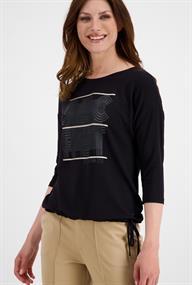 Monari t-shirts 804804 in het Zwart