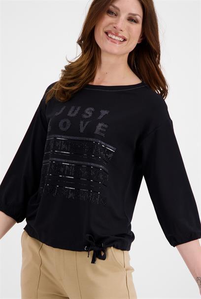 Monari t-shirts 804824 in het Zwart