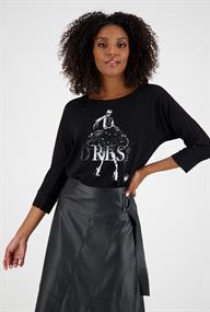 Monari t-shirts 805156 in het Zwart