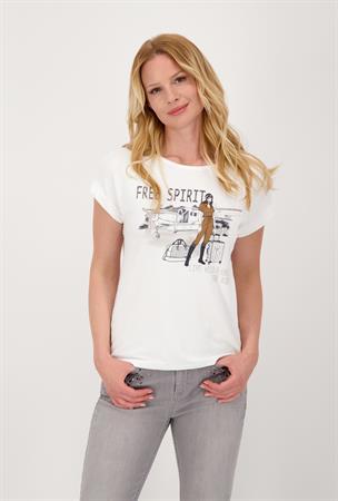 Monari t-shirts 805389 in het Offwhite
