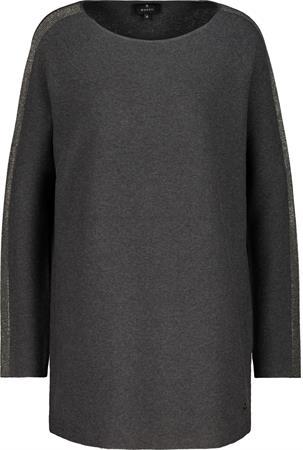 Monari trui 805765 in het Grijs Melange