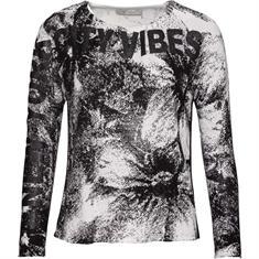 Monari truien 404265 in het Zwart / Wit