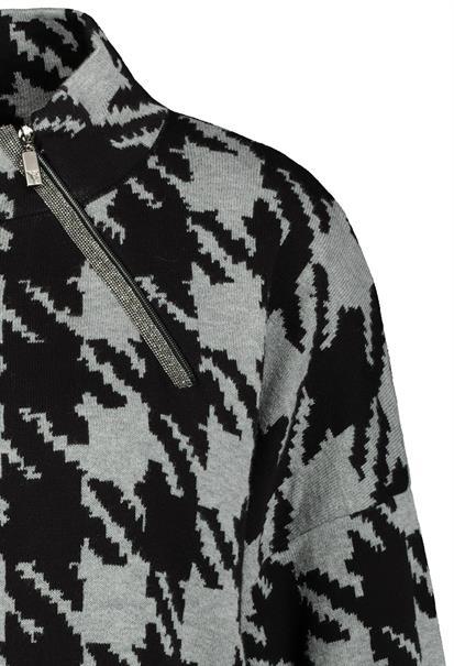 Monari truien 804952 in het Grijs