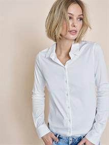 Mos Mosh blouse 131660 in het Wit