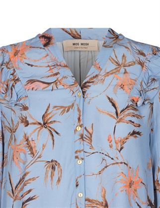 Mos Mosh blouse 136770 in het Licht Blauw
