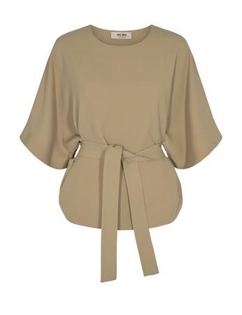 Mos Mosh blouse 137910 in het Licht Bruin