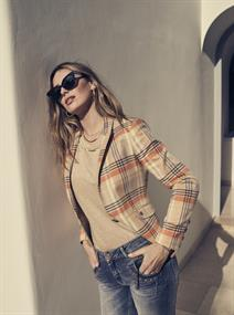 Mos Mosh jeans 132430-Naomi troks in het Blauw