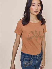 Mos Mosh t-shirts 131300 in het Camel