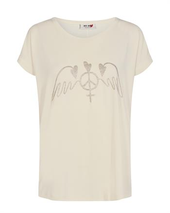 Mos Mosh t-shirts 134930 in het Ecru