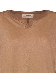 Mos Mosh t-shirts 136870 in het Camel