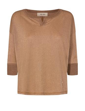 Mos Mosh t-shirts 136870 in het Camel