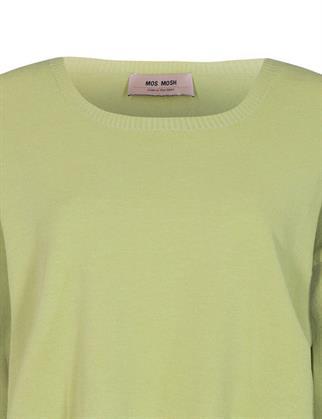 Mos Mosh trui 136650 in het Licht Groen