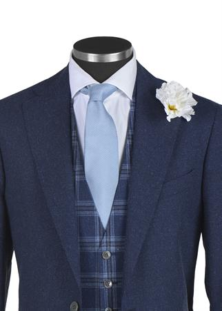 My Ideal Suit maatpak C12.323.30U in het Donker Blauw