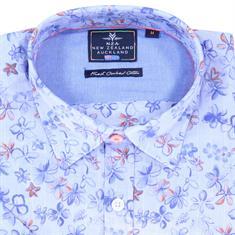 New Zealand Auckland t-shirts 19DN503D in het Blauw