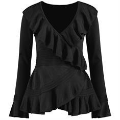 Nikkie trui n7-168-1804 in het Zwart