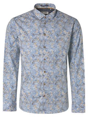No Excess casual overhemd 11410212 in het Blauw