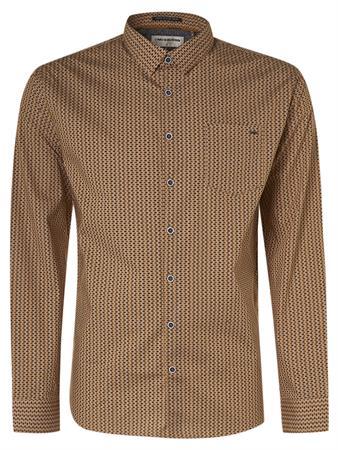 No Excess casual overhemd 12430804 in het Licht Grijs