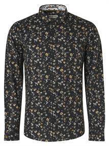 No Excess casual overhemd 97410801 in het Zwart