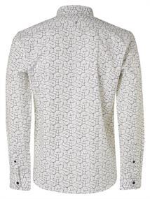 No Excess casual overhemd 97450802 in het Wit