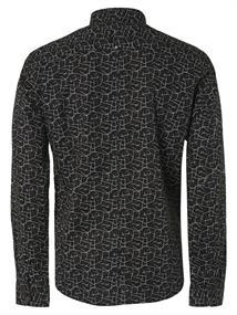 No Excess casual overhemd 97450802 in het Zwart