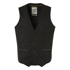 No Excess gilet Slim Fit 94641107 in het Zwart