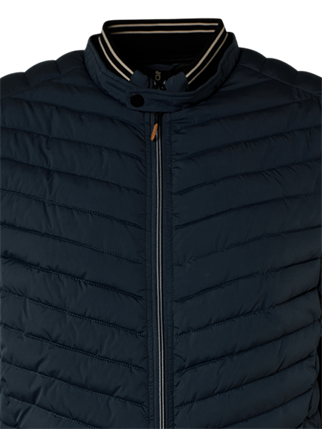 No Excess jacks Slim Fit 11630102 in het Donker Blauw