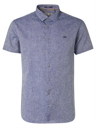 No Excess overhemd 11420338 in het Blauw