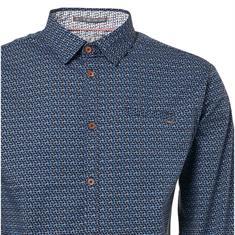 No Excess overhemd 90430181 in het Blauw