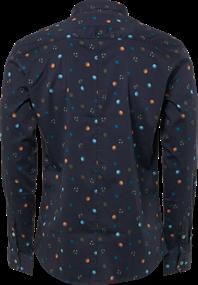 No Excess overhemd 92430702 in het Donker Blauw