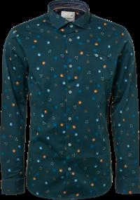 No Excess overhemd 92430702 in het Donker Groen