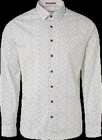 No Excess overhemd 95410106 in het Wit
