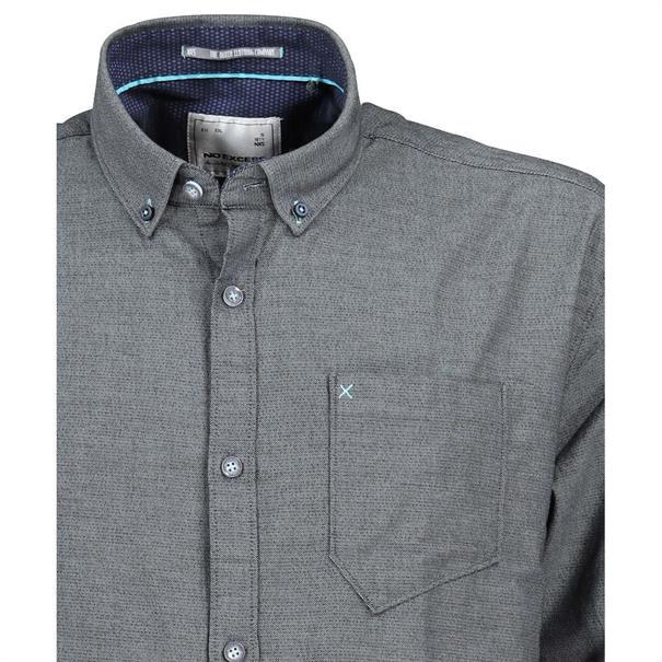 No Excess overhemd Slim Fit 89411104 in het Blauw