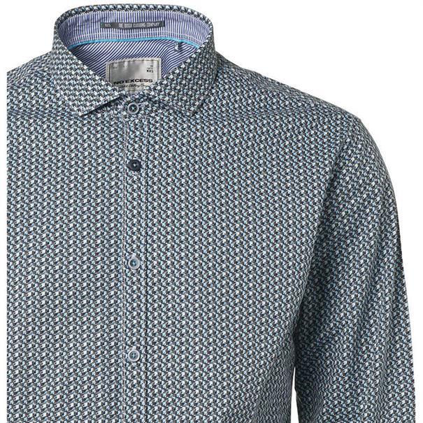 No Excess overhemd Slim Fit 89481107 in het Blauw