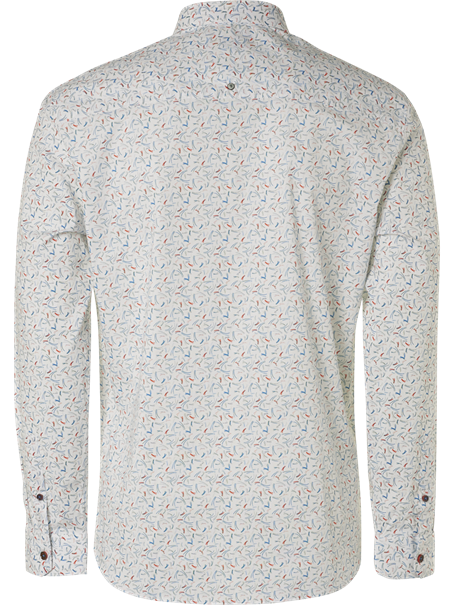 No Excess overhemd Slim Fit 95410106 in het Wit