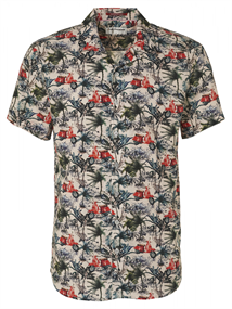 No Excess overhemd Slim Fit 95420303 in het Oranje