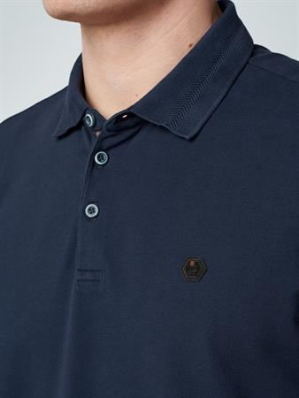 No Excess polo's 11370101SN in het Donker Blauw