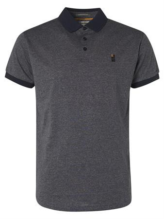 No Excess polo's 11370305 in het Donker Blauw