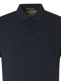 No Excess polo's 11370307 in het Donker Blauw
