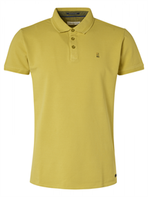 No Excess polo's 95370104N in het Lime