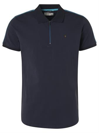 No Excess polo's 96370510 in het Donker Blauw