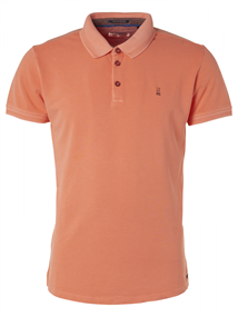 No Excess polo's Slim Fit 95370104N in het Oranje