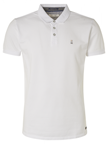 No Excess polo's Slim Fit 95370104N in het Wit