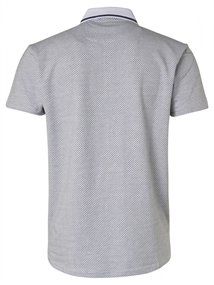 No Excess polo's Slim Fit 95370311 in het Wit