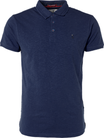 No Excess polo's Slim Fit 95380105N in het Donker Blauw