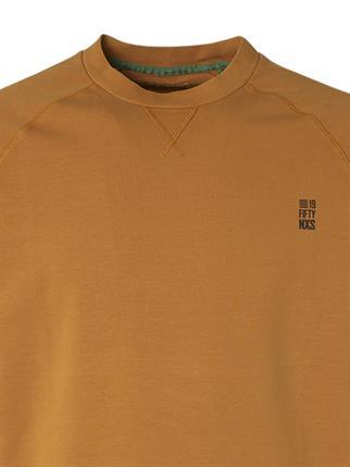 No Excess ronde hals trui 11180280 in het Geel