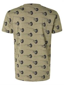 No Excess t-shirts 11320307 in het Groen